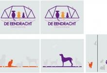 glasfolie, logo